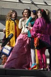 Photos From On the Tv Set Of''gossip Girl'' on the Steps of Metroplitian Museum of Art