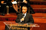 Al Sharpton,Johnnie Cochran Photo - Funeral of Johnnie L Cochran Jr