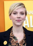 Photo - Scarlett Johansson attends the New York Premiere of He Named Me Malala the Ziegfeld Theater NYC September 24 2015 Photos by Sonia Moskowitz Globe Photos Inc